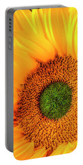 Wonderful Sunflower Close Up Portable Battery Charger