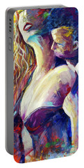 Wonderful Tonight Couple Making Love Portable Battery Charger