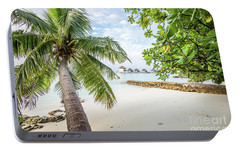 Portable Battery Charger featuring the photograph Wonderful View by Hannes Cmarits