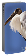 Wonderful Wood Stork Portable Battery Charger by Carol Groenen