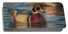 Wood Duck 4 Portable Battery Charger