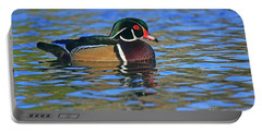 Wood Duck Ripples Portable Battery Charger