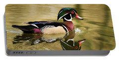 Wood Duck Cruising Portable Battery Charger