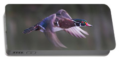 Wood Duck Flight Portable Battery Charger