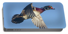 Wood Duck Flying Fast Portable Battery Charger