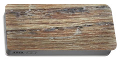 Wood Grain 1 Portable Battery Charger