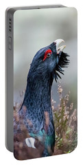 Wood Grouse Portrait Portable Battery Charger