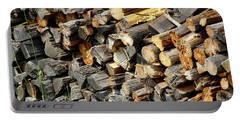 Wood Pile Portable Battery Charger