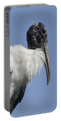 Wood Stork Portrail Portable Battery Charger