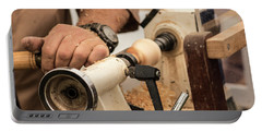 Wood Turner Portable Battery Charger