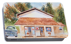 Woodcock Insurance In Watercolor  W406 Portable Battery Charger by Kip DeVore