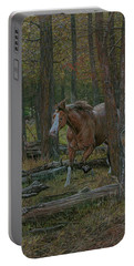 Wooded Run Portable Battery Charger
