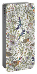 Woodland Edge Birds Portable Battery Charger