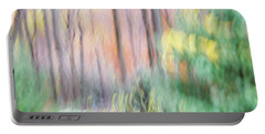 Portable Battery Charger featuring the photograph Woodland Hues 2 by Bernhart Hochleitner