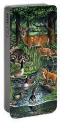 Woodland Portable Battery Charger