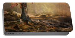 Woodland Mist Portable Battery Charger