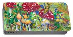 Woodland Visitors Portable Battery Charger