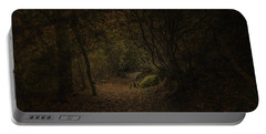 Portable Battery Charger featuring the photograph Woodland Walk by Ryan Photography