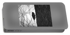 Woodpecker Portable Battery Charger by Anna  Duyunova