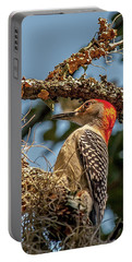 Woodpecker Closeup Portable Battery Charger