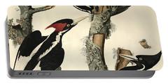 Woodpecker Portable Battery Charger by John James Audubon