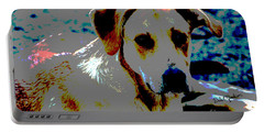Woodrow The Pop Art Dog  Portable Battery Charger
