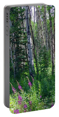 Woods Portable Battery Charger by Beth Saffer