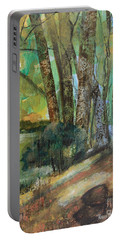 Woods In The Afternoon Portable Battery Charger