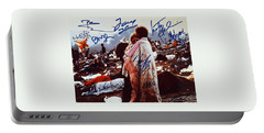 Woodstock Album Cover Signed Portable Battery Charger