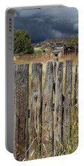 Woodworm Art Picket Fence Portable Battery Charger
