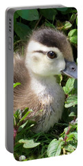 Woody Duckling Portable Battery Charger