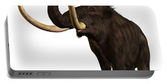 Woolly Mammoth Profile Portable Battery Charger
