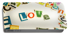 Word Of Love Portable Battery Charger
