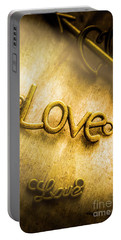Words And Letters Of Love Portable Battery Charger