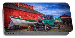 Work Truck, Mystic Seaport Museum Portable Battery Charger