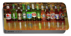 Portable Battery Charger featuring the photograph World Beers By Kaye Menner by Kaye Menner