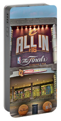 World Champion Cleveland Cavaliers Portable Battery Charger by Frozen in Time Fine Art Photography