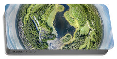 Portable Battery Charger featuring the photograph World Of Whitnall Park by Randy Scherkenbach