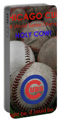 World Series Champions - Chicago Cubs Portable Battery Charger