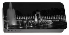 World War II Memorial Portable Battery Charger by Ed Clark