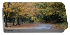 Worlds Ends State Park Road Portable Battery Charger