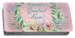 World's Greatest Mom Portable Battery Charger