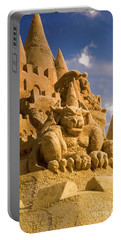 Worlds Largest Sand Castle Portable Battery Charger by Bob Pardue