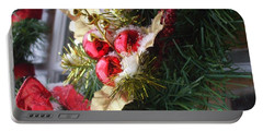 Portable Battery Charger featuring the photograph Wreath by Shana Rowe Jackson