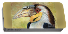 Wreathed Hornbill  Portable Battery Charger