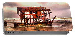 Wreck Of The Peter Iredale  Portable Battery Charger