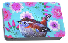 Wren Portable Battery Charger by Jane Tattersfield