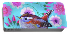 Wren Portable Battery Charger by Jane Tattersfield