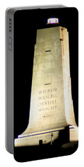 Wright Brothers' Memorial Portable Battery Charger by Karen Harrison