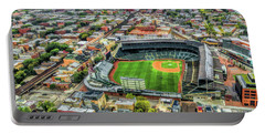 Wrigley Field Chicago Skyline Portable Battery Charger